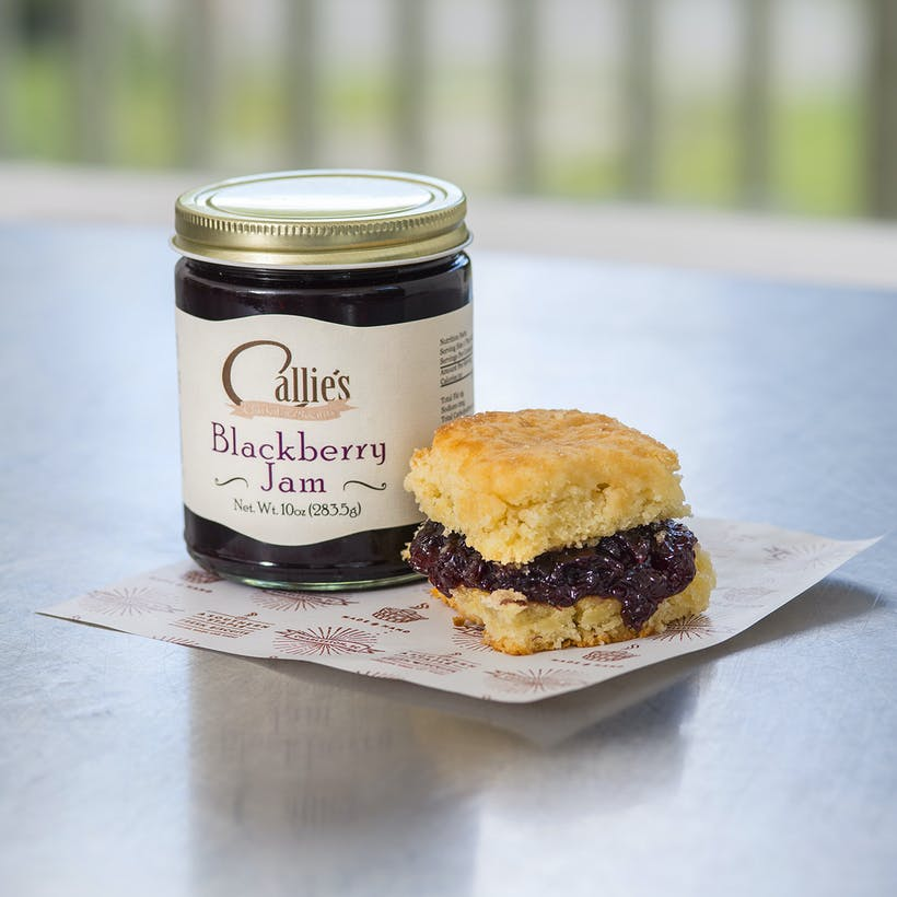 Shortcakes + Blackberry Jam