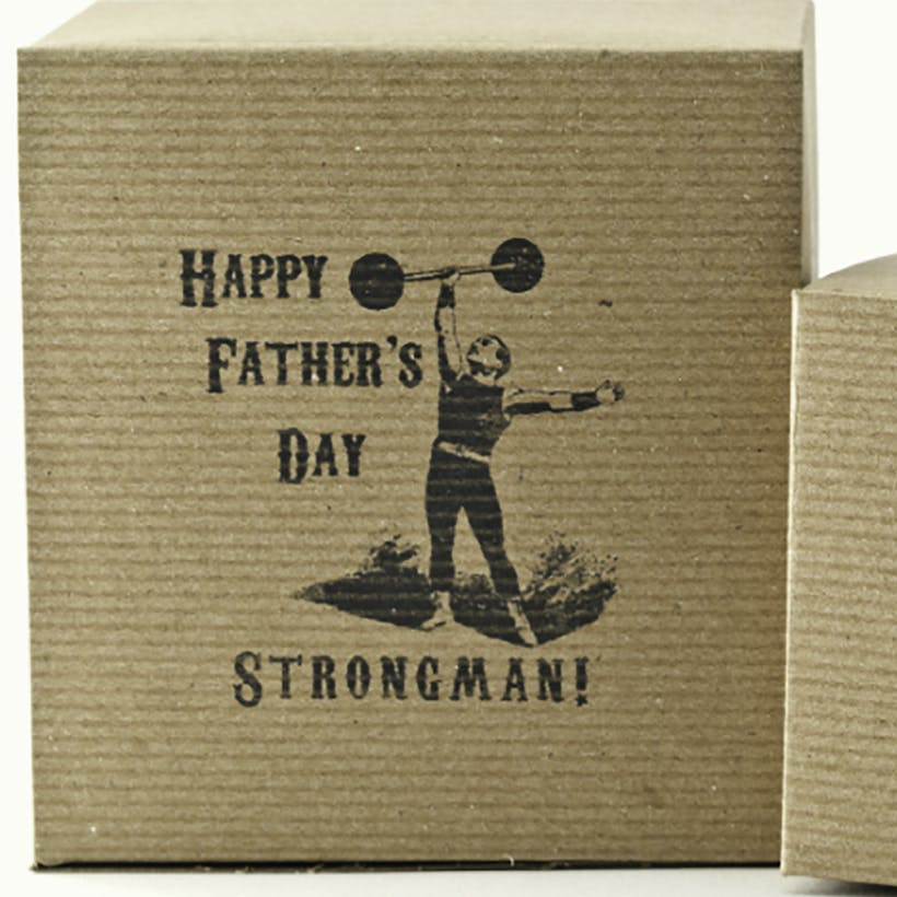 Father's Day Caramel Gift Box