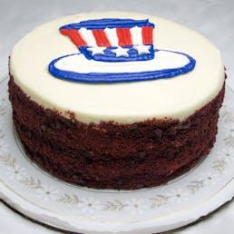 Uncle Sam's Red Velvet Cake - 8 Inch
