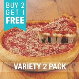Buy 2 Get 1 Free Natural Pizza