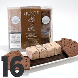 Salted Chocolate S'mores Kit - 16 S'mores