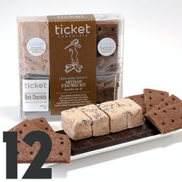 Salted Chocolate S'mores Kit - 12 S'mores
