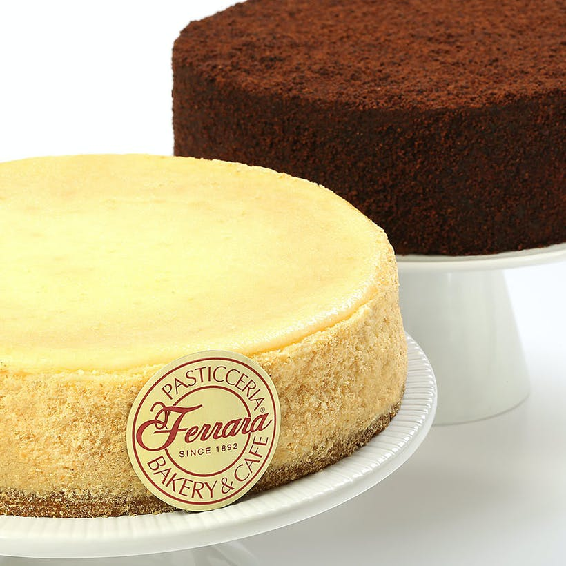 Chocolate Truffle Cake + NY Cheesecake
