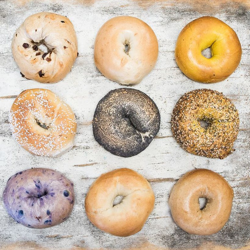 Choose Your Own Bagels + Lox + Cream Cheese