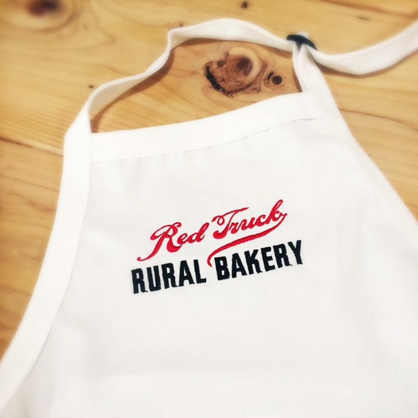 Red Truck Apron
