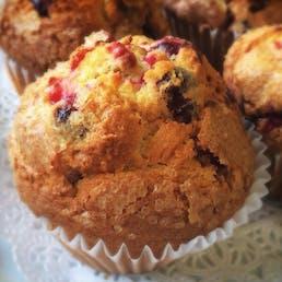 Cranberry Orange & Walnut Muffins