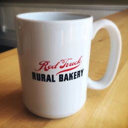 Red Truck Coffee Mug