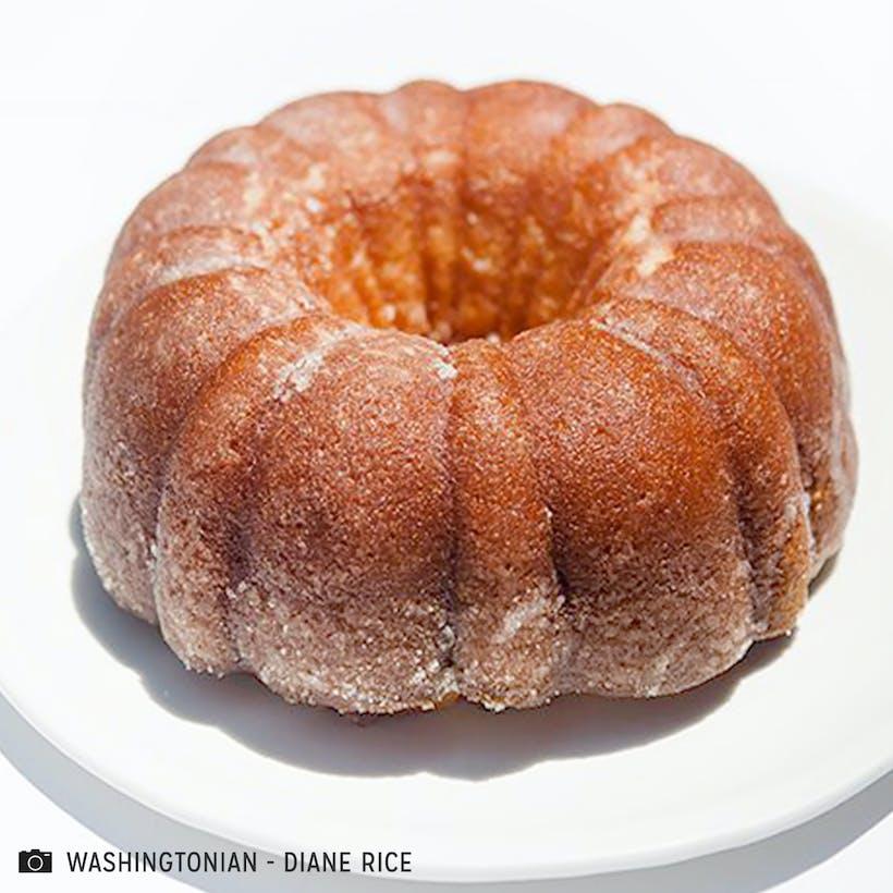 Alma Hackney's Rum Cake