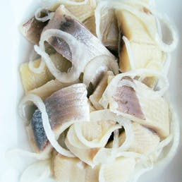 Pickled Herring with Plain & Onions