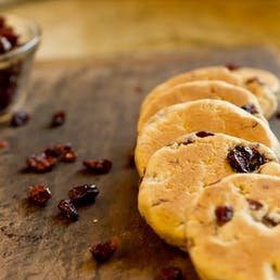 Cranberry Welsh Cakes - 3 Pack