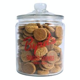 Byrd's Signature Cookie Jar + Chocolate Chip Cookies + 1 Free lb of Chocolate Chip Cookies