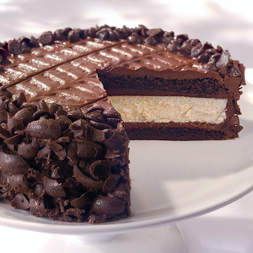 Devils' Food Cheesecake