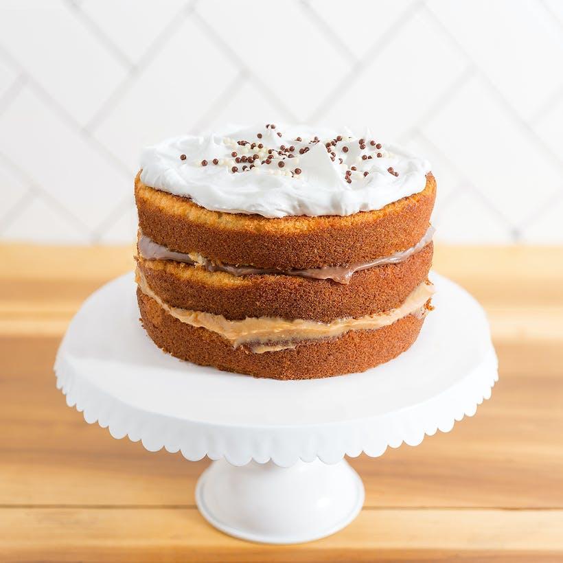 Two Lovers Brigadeiro Layer Cake