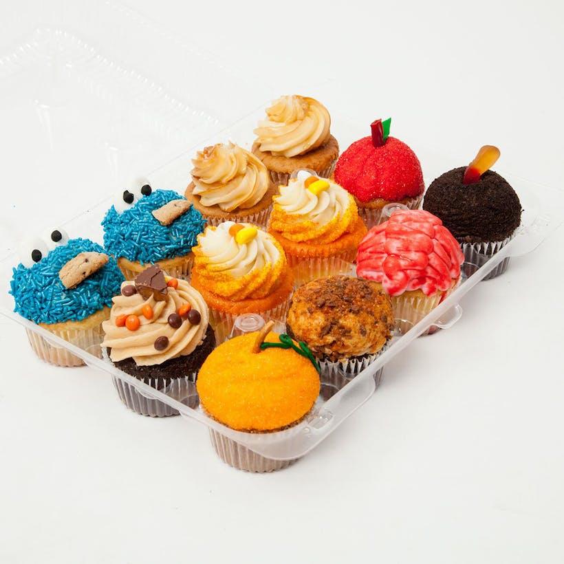 Halloween Cupcakes Box