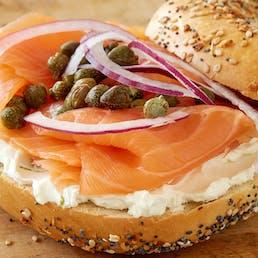 Bagels, Cream Cheese & Nova Scotia Salmon - Two Dozen