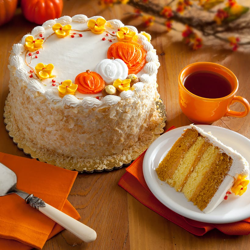 Pumpkin Layer Cake (Kosher)