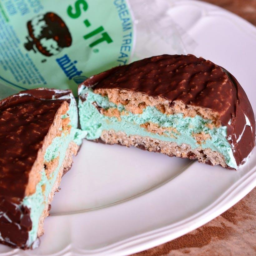 Mint Ice Cream Sandwiches - 24 Pack