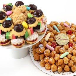 Struffoli + Italian Cookies 2 lbs