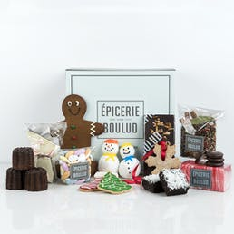 Large Holiday Sweets Box