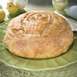 Easter Basket Baked Brie