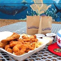 Fish & Shrimp Feast - Serves 8-10