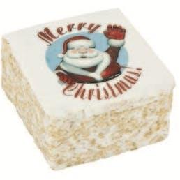 Christmas Marshmallow Crispycakes