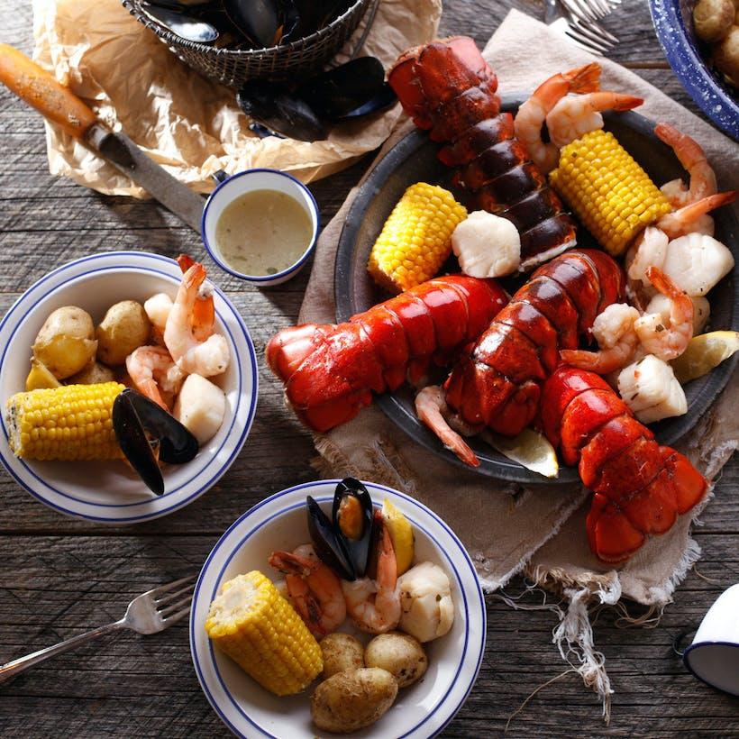 Maine Lobsterman's Catch (Serves 4)