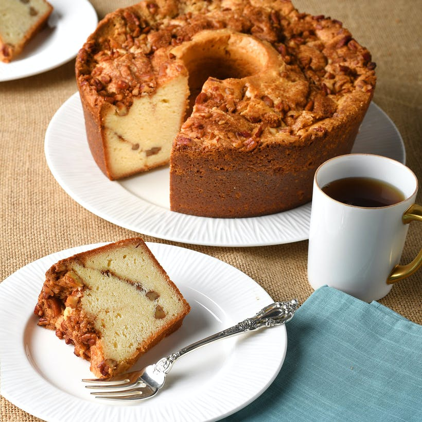 Pearson's Cinnamon Crumble Cake