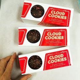 Marshmallow Cloud Cookies