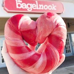 Heart Shaped Bagel Dozen
