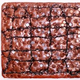Half Sheet Pan Brownie