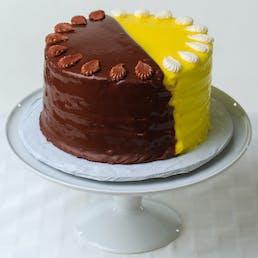 The Half/Half Doberge Cake + King Cake Balls