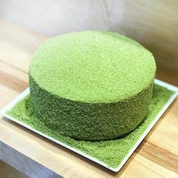 Fancy Green Tea Cheesecake