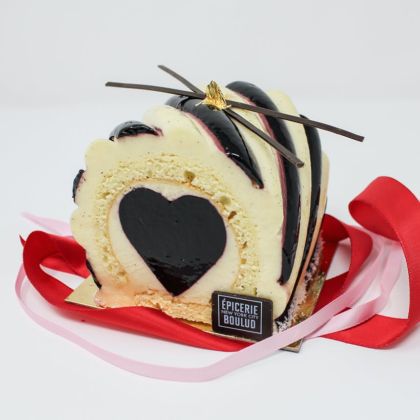 Heart Swirl Cake for Two