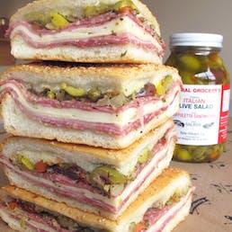 Original Muffuletta Sandwich - 3 pack (Serves 10-12)