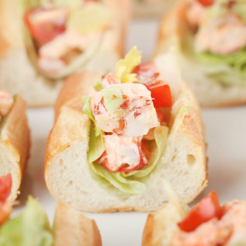 Lobster Salad on Brioche