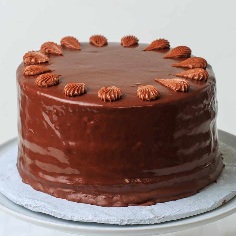 Chocolate Doberge Cake