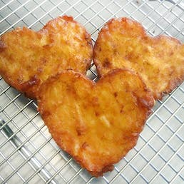 Large Heart Shaped Original Potato Latke - 20 Pack