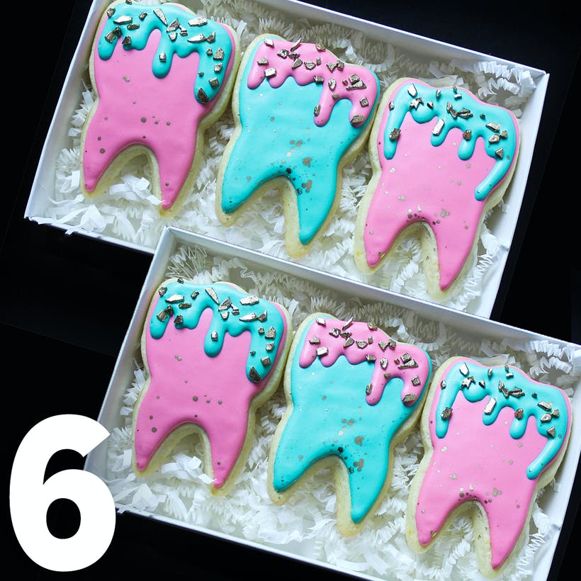 Sweet Teeth Cookie Gift Box - 6 Pack