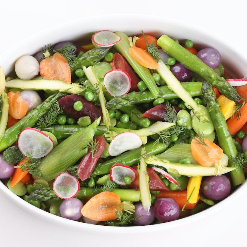 Spring Vegetable Fricassee