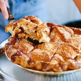 Signature Salted Caramel Apple Pie