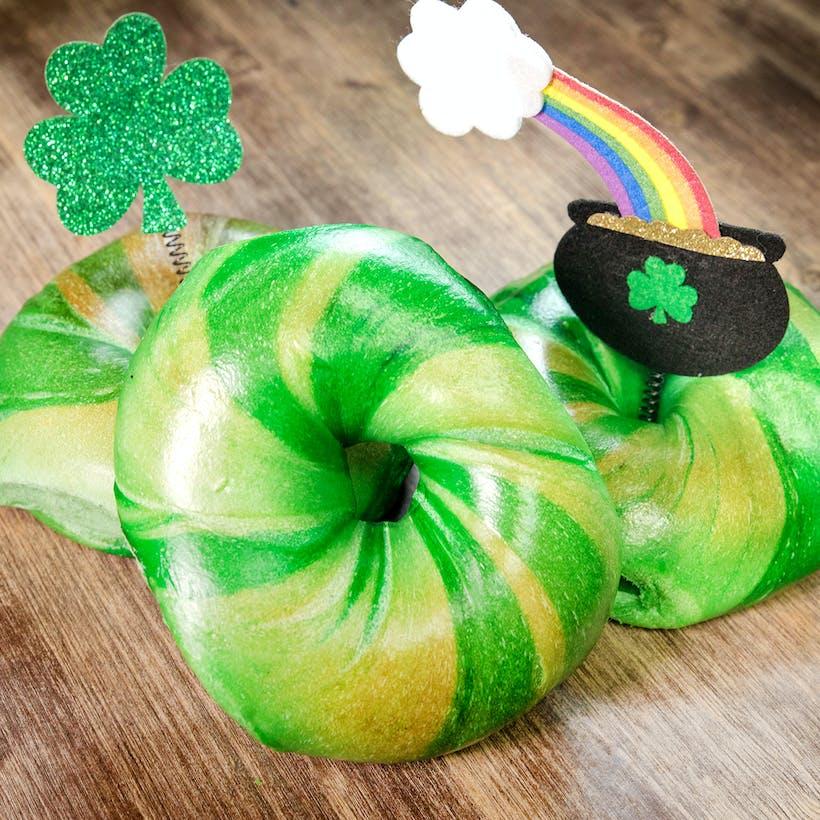 St Patrick's Day Bagel Dozen