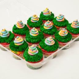 Unicorn Poop & Party Pooper Cupcakes