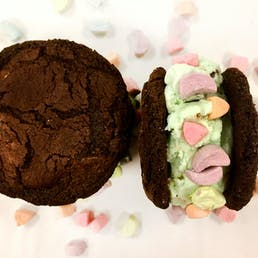 Mint Chip + Lucky Charms Ice Cream Sandwich - 12 Pack