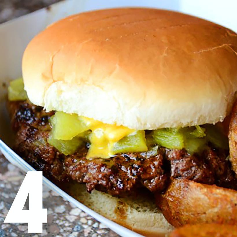 Hatch Green Chile Cheeseburger Kit - 4 Pack