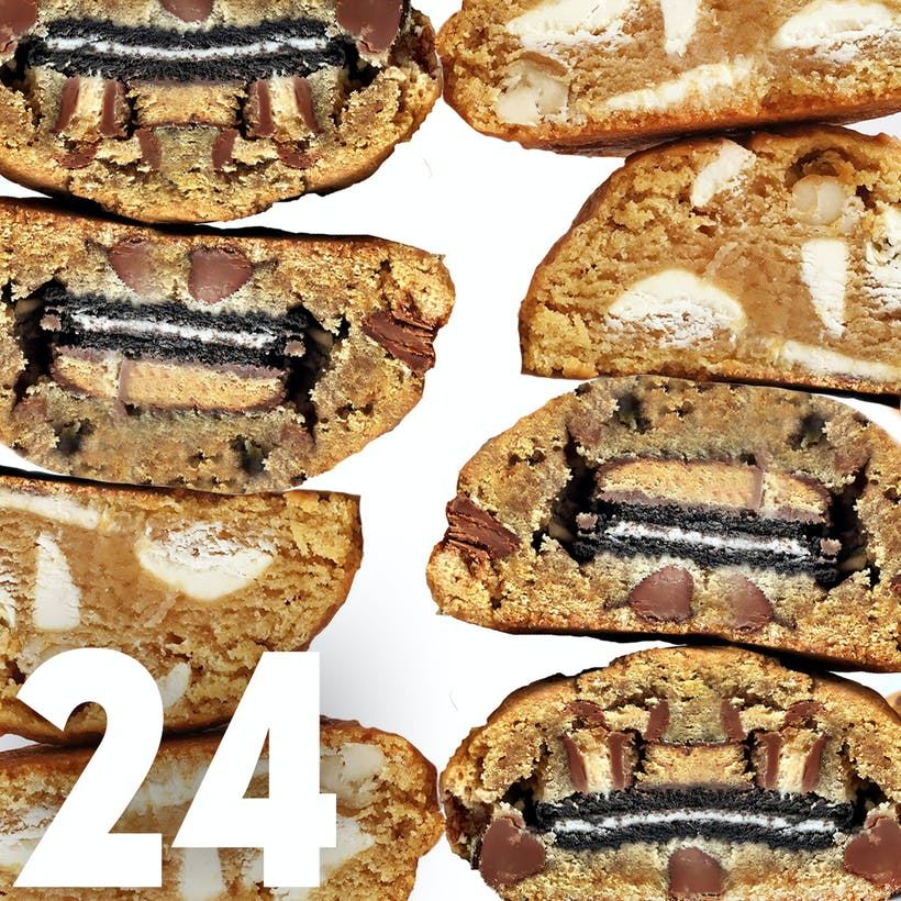 Choose Your Own Giant Cookies - 24 Pack