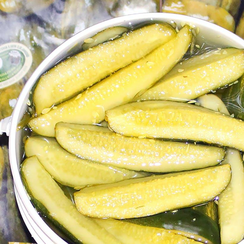 NY Fresh Kosher Pickle Spears - 1 gallon