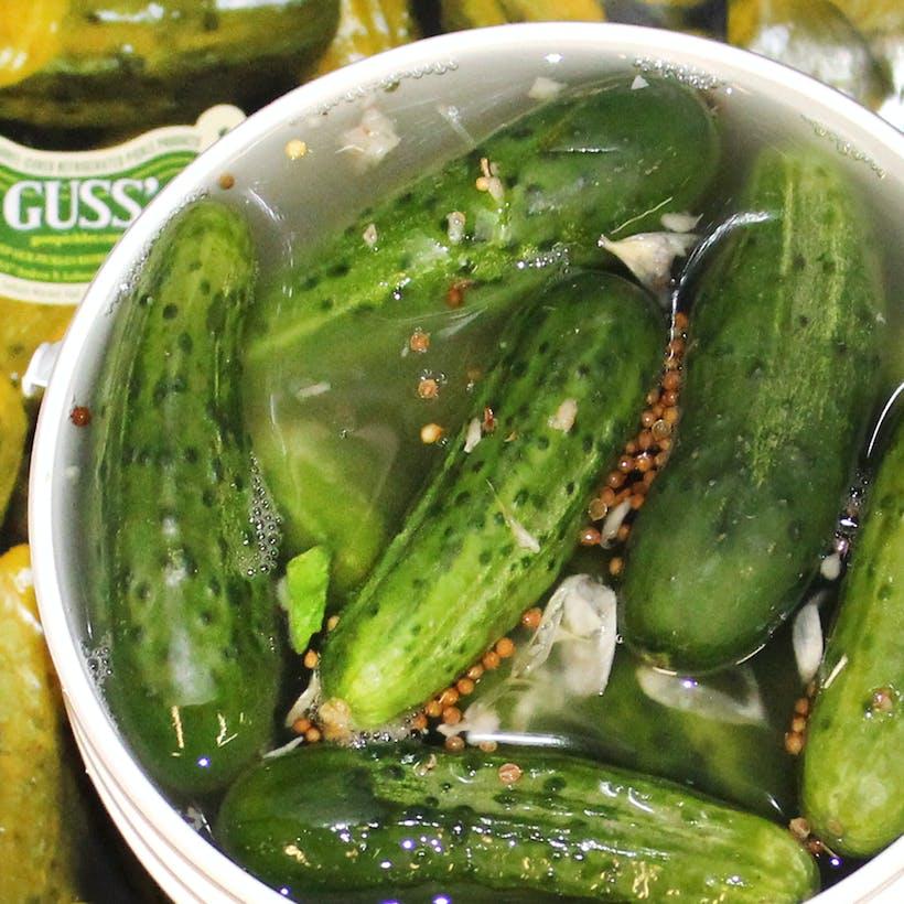 NY Half Sour Pickles - 1 gallon