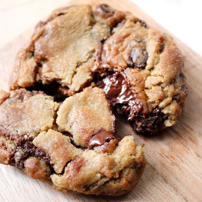 Chocolate Chip Chunk Jumbo Cookies