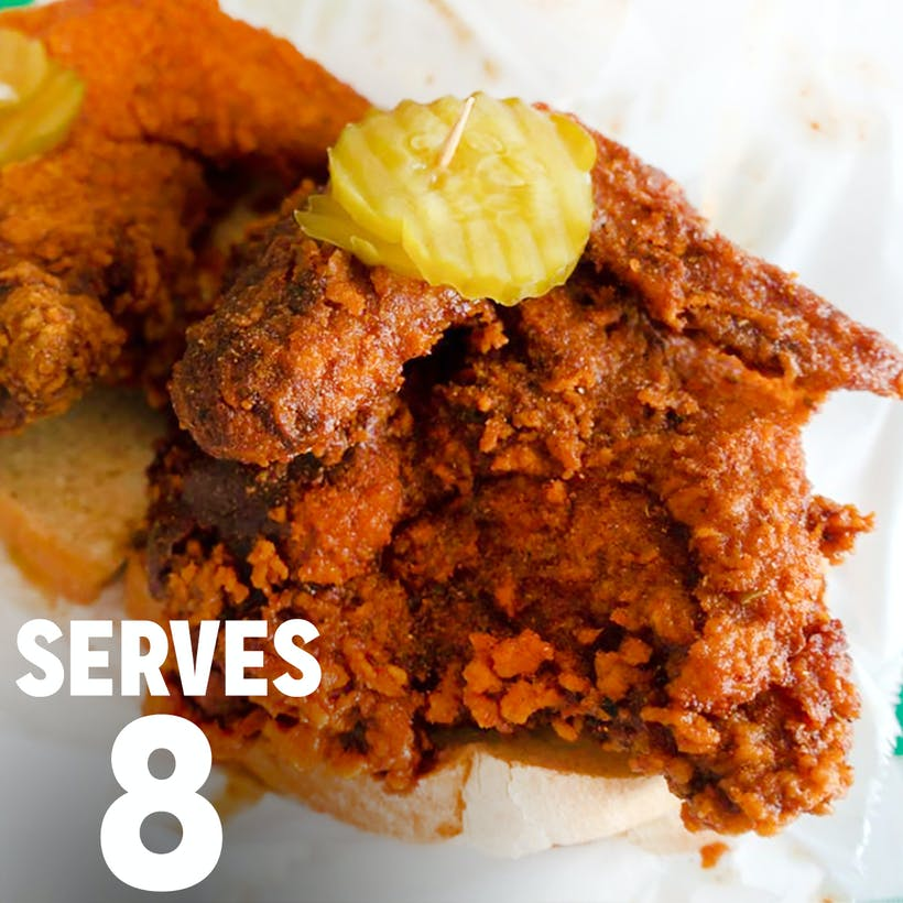 Nashville Hot Chicken - Serves 8